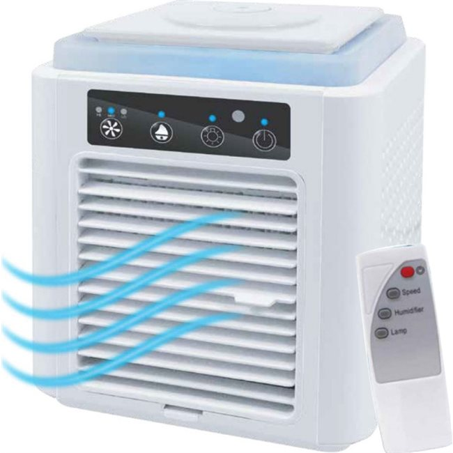 Pure Air Φορητό mini Air Cooler 3 σε 1 με τηλεχειρισμό hv-pa001